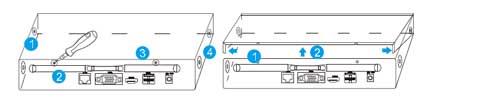 نصب آسان هارد بر روی دستگاه