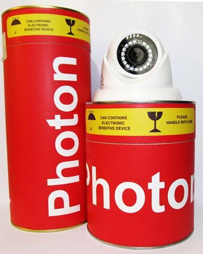 بسته بندی جدید دوربین های مداربسته فوتون
