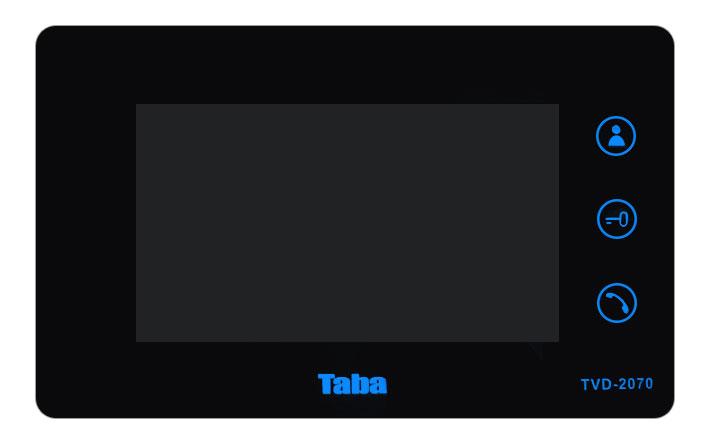 ویژگی ها آیفون تصویری تابا الکترونیک مدل TVD-2070
