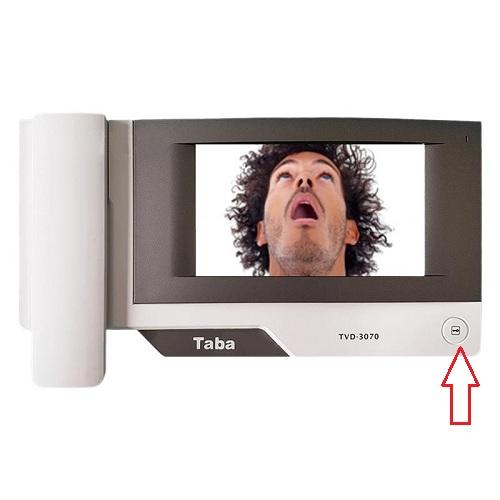 ویژگی های آیفون تصویری تابا الکترونیک مدل TVD-3070