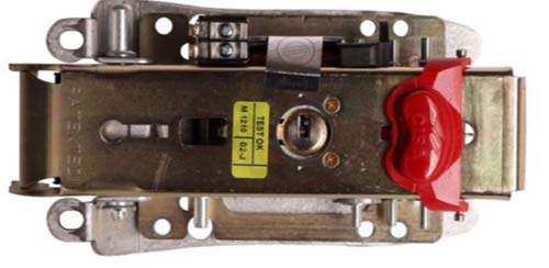 قفل سیزا 5 کلید کامپیوتری