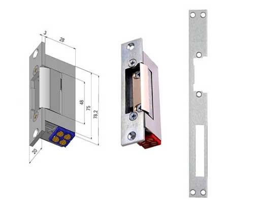 ویژگی قفل مقابل برقی درب ضد سرقت مدل O&C