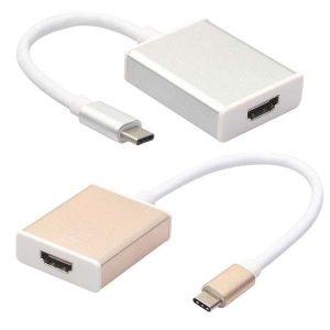 تبدیل کابل DisplayPort و USB-C را به HDMI