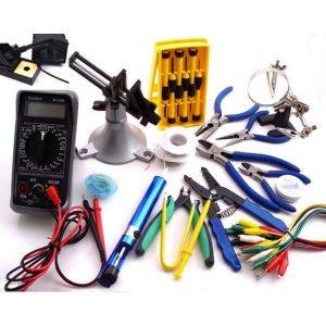 ابزار و تجهیزات مورد نیاز برای نصب دوربین مداربسته