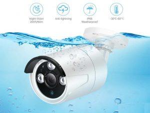 دوربین های مداربسته ضد آب به چند دسته تقسیم می شود.