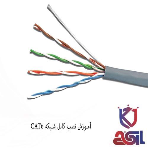 آموزش نصب کابل شبکه CAT6