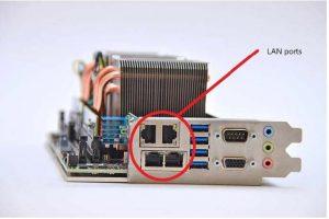 تفاوت پورت LAN با پورت SFP چیست؟