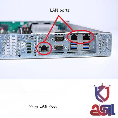 پورت LAN چیست؟