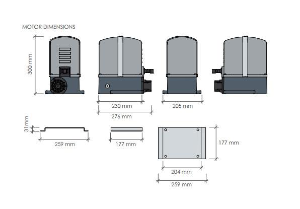 شماتیک جک ریلی پروتکو مدل MOVER 5