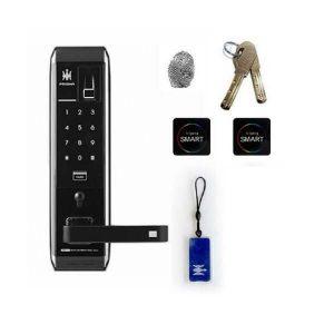قابلیت اثرانگشتی و کلید بر روی ویژگی های کلیدی قفل دستگیره دیجیتال پریسما مدل 901 H-GANG prisma
