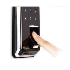 رمز و کارت در قفل دستگیره دیجیتال پریسما مدل 701 H-GANG prisma