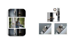 ویژگی قفل دیجیتال گیت من مدل V100-V300