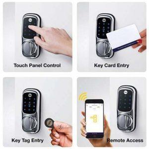 ویژگی های قفل الکترونیکی وایرلس