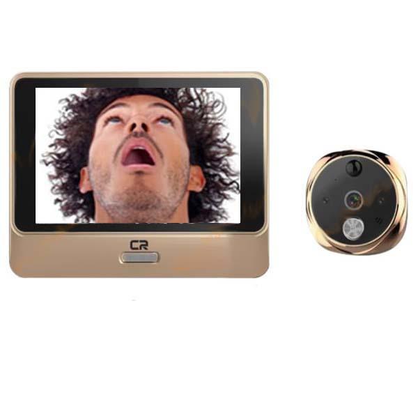 دوربین و نمایش چشمی درب دیجیتال آپارتمان یوکا مدل ZP-YC