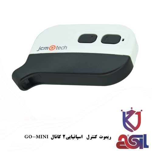 مشخصات کلی ریموت کنترل 2 کانال Go-mini